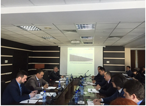 "The meeting of STC ""KAZLOGISTICS"", JSC ""OTLK"" and the largest transport companies took place"